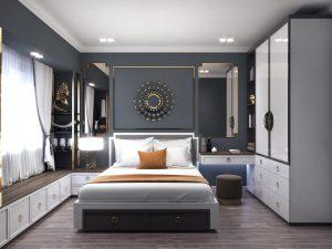 Thiết kế nội thất đẹp - mẫu nội thất phòng ngủ đẹp