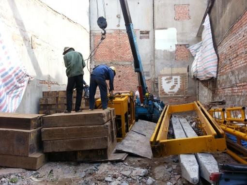 quy trình thi công nhà phố phần móng cọc
