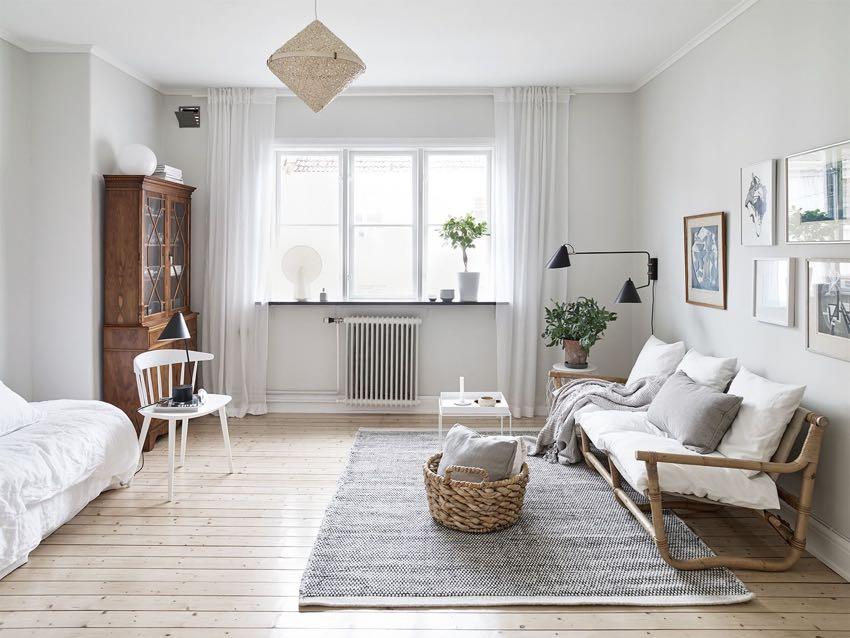 mẫu nội thất phong cách đơn giản