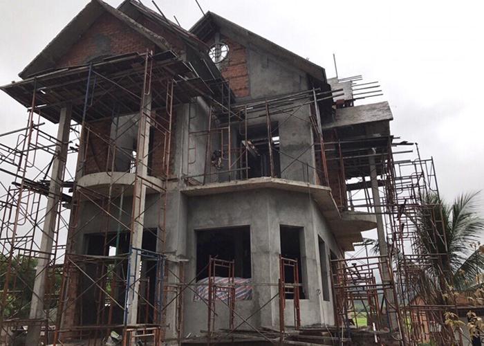 quy trình xây dựng biệt thự