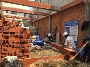 quy trình xây dựng công trình xây dựng