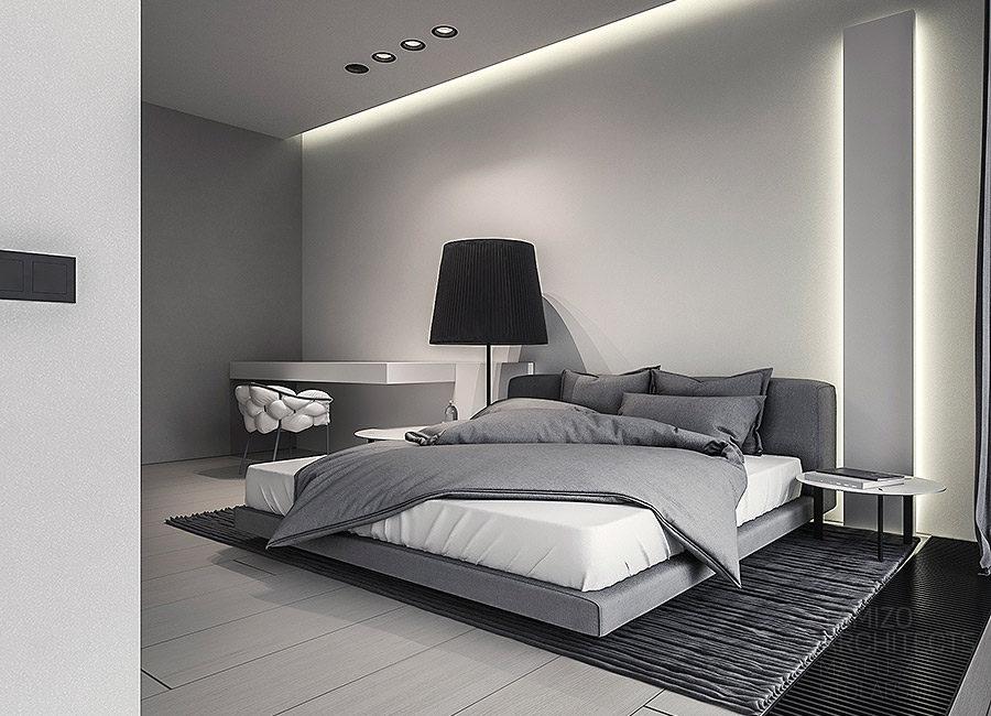 thiết kế phong cách phòng ngủ đơn giản
