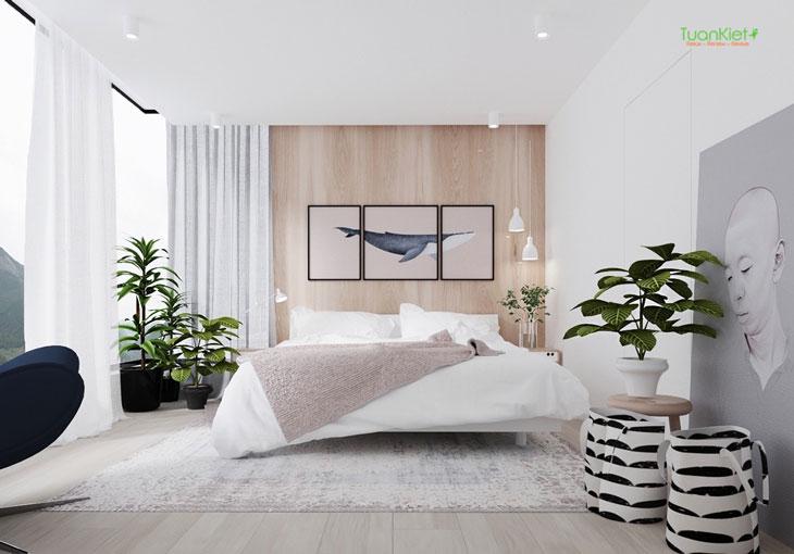 Thiết kế phòng ngủ cách đơn giản