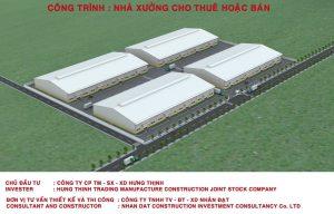 Thi công nhà xưởng công nghiệp - Công ty thiết kế xây dựng nhà uy tín tphcm
