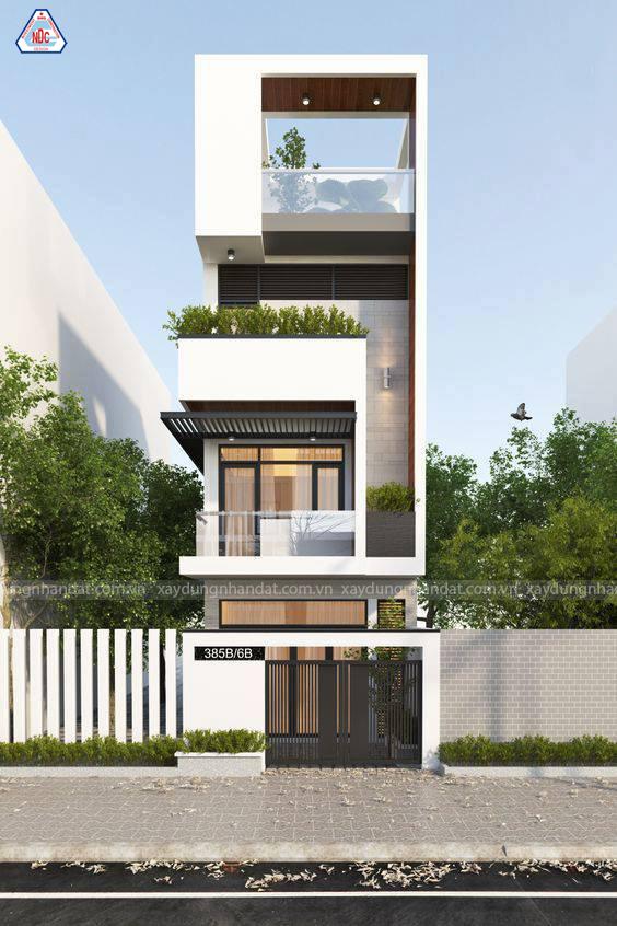 Những mẫu nhà phố đẹp năm 2020