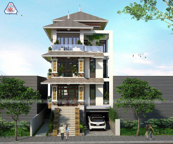 Mẫu biệt thự 3 tầng đẹp - Công ty thiết kế xây dựng biệt thự đẹp, uy tín