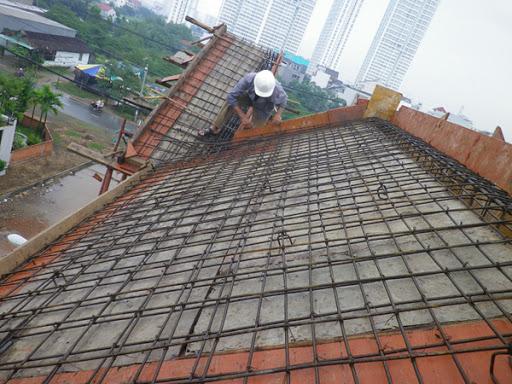 Thi công thép sàn mai - Công ty thiết kế xây dựng nhà uy tín