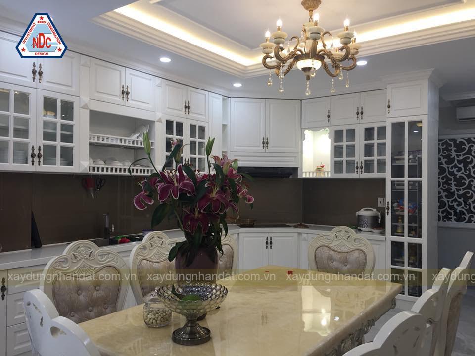 xây dựng nhà Quận Bình Tân - nội thất tân cổ điển