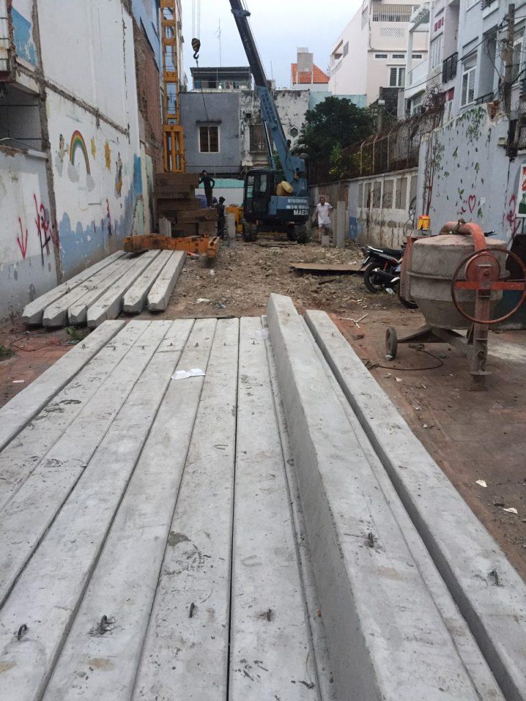 quy trình thi công nhà phố tại tphcm