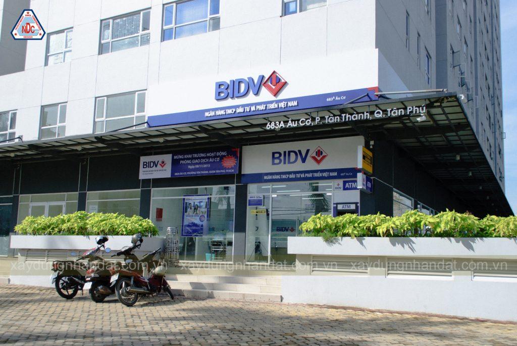 thiết kế thi công nội thất ngân hàng BIDV-12