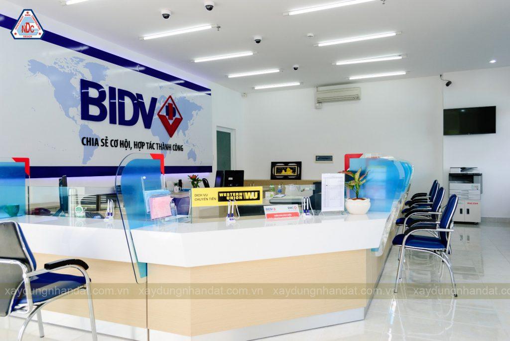 thiết-kế-thi-công-nội-thất-ngân-hàng-BIDV, công ty thiết kế xây dựng uy tín tphcm