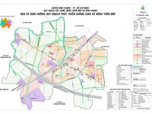 Bản đồ huyện Bình Chánh - TPHCM