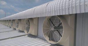 Hệ thống thông gió trong nhà xưởng, nhà kho