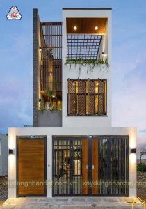 Mẫu thiết kế nhà phố ấn tượng