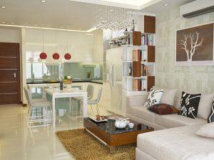 Phòng ăn đẹp thiết kế không gian mở