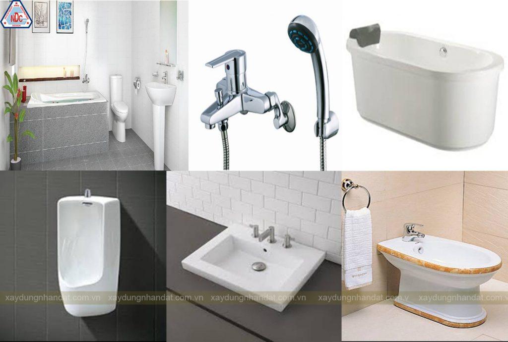 thiết kế thiết bị vệ sinh đẹp