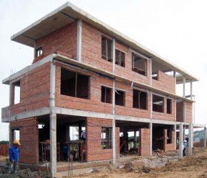 dự án nhà phố gồm 1 trệt 2 lầu