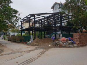 Lắp dựng nhà khung thép dân dụng