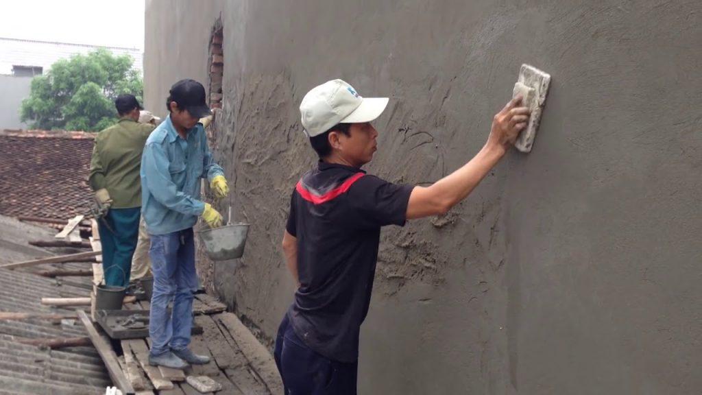Giai đoạn tô trát tường