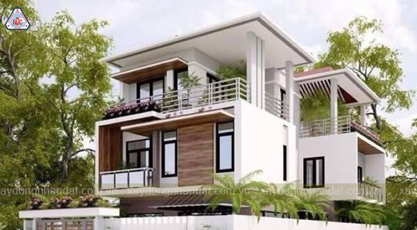xây nhà có được mở của qua nhà hàng xóm khôn