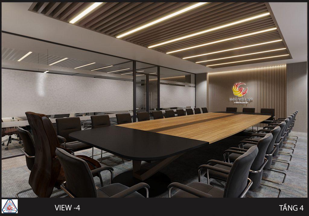 mẫu bàn ghế phòng họp