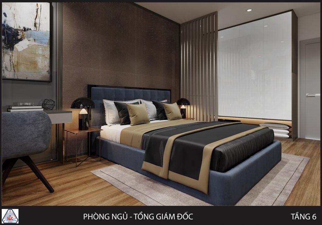 cách bố trí nội thất phòng ngủ
