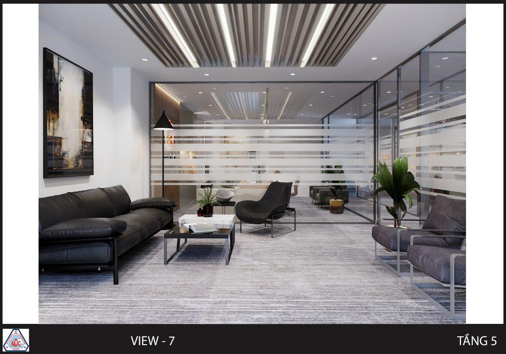 thiết kế trần nhà văn phòng