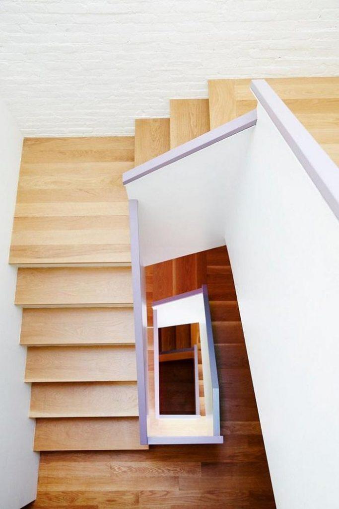 thiết kế cầu thang nhà phố