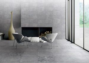 mẫu gạch ốp tường phòng khách hiện đại