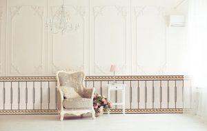 Mẫu gạch ốp chân tường phòng khách đẹp số 1