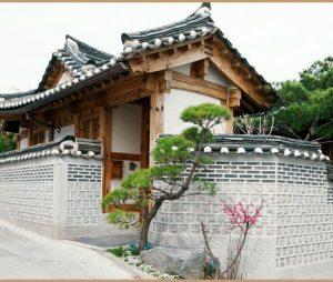 Mẫu nhà 2 tầng ở Hàn Quốc theo phong cách truyền thống độc đáo