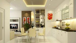 Phòng ăn đẹp thiết kế tiện dụng