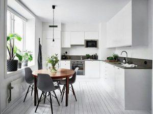 Phòng ăn đẹp thiết kế tươi sáng