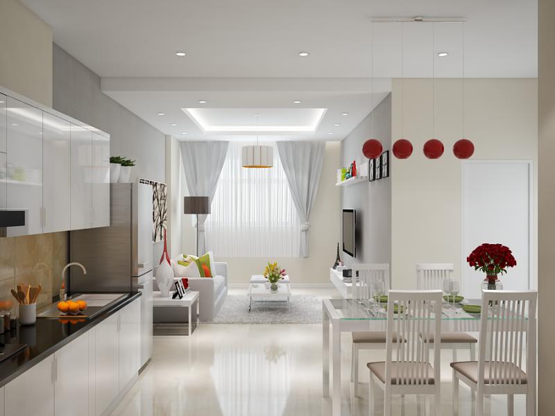 Phòng ăn đẹp thiết kế sang trọng