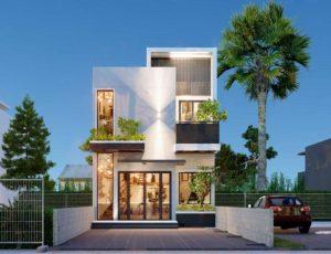 Căn nhà phố 6x15m tại Bình Chánh