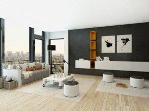 Mẫu thiết kế trần thạch cao phòng khách số 5