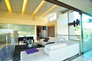 Mẫu thiết kế trần thạch cao phòng khách số 24