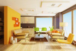 Mẫu thiết kế trần thạch cao phòng khách số 22