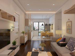 Mẫu thiết kế trần thạch cao phòng khách số 30