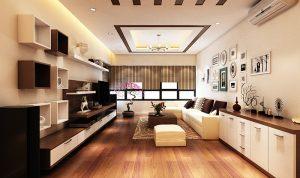Mẫu thiết kế trần thạch cao phòng khách số 31