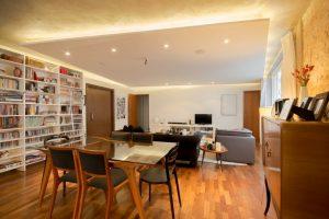 Mẫu thiết kế trần thạch cao phòng khách số 2