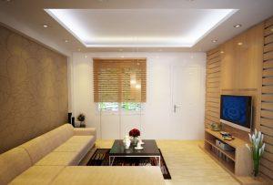 Mẫu thiết kế trần thạch cao phòng khách số 7