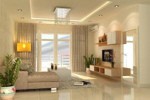 Mẫu thiết kế trần thạch cao phòng khách số 6