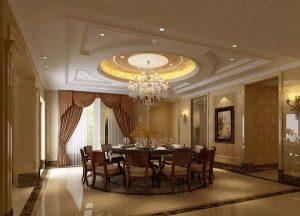 Mẫu thiết kế trần thạch cao phòng khách số 36