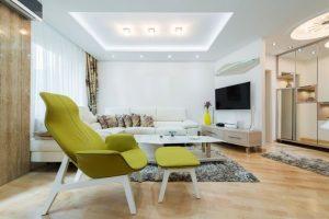 Mẫu thiết kế trần thạch cao phòng khách số 3