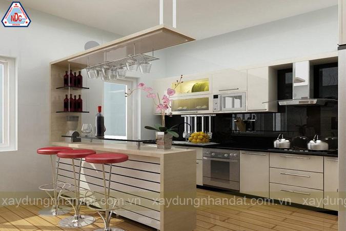 ý tưởng thiết kế phòng bếp hiện đại