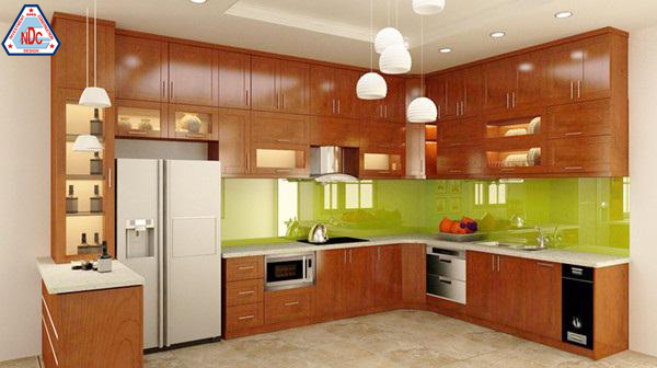 cách bài trí không gian nhà bếp đẹp