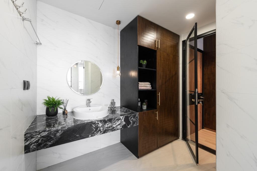 Căn hộ duplex với phong cách 'công xưởng' tại Hà Nội