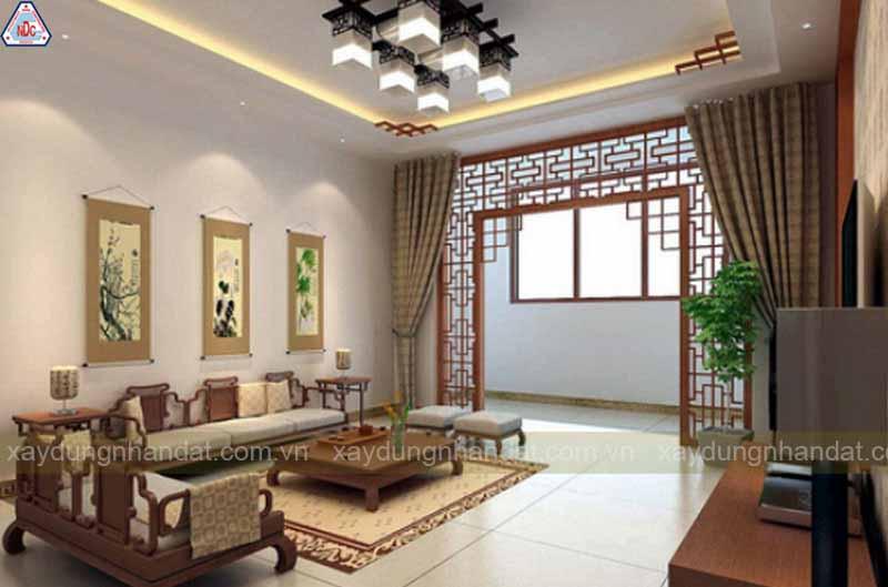 thiết kế phòng khách đơn giản đẹp