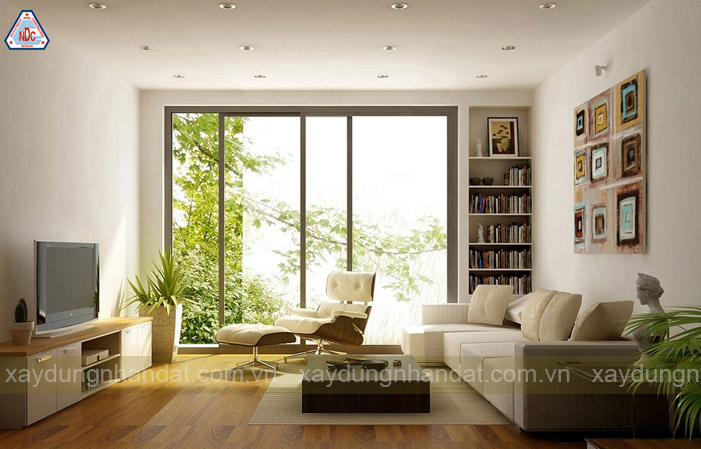 ý tưởng trang trí phòng khách thư giản